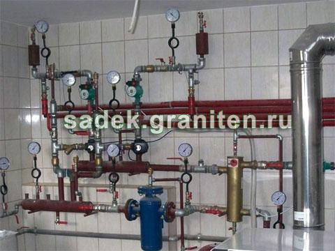 Монтаж отопления полипропиленом